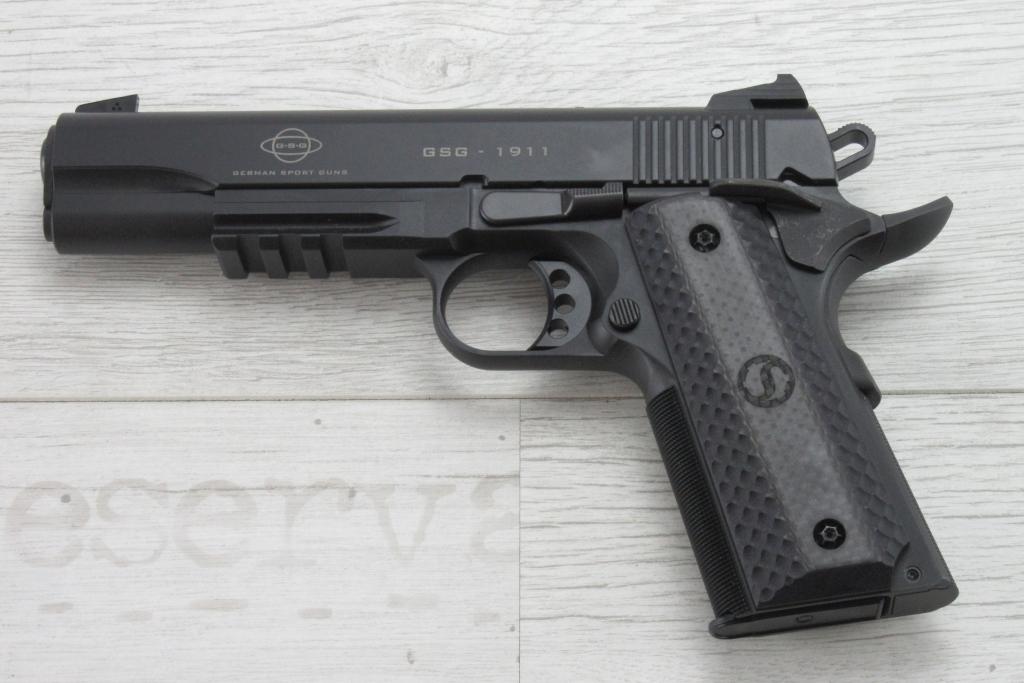 Abbildung: Wechselsystem GSG für 1911 Pistolen