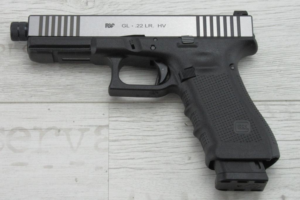 Abbildung: RBF Wechselsystem für Glock17 /17L/34/Gen 3 und 4